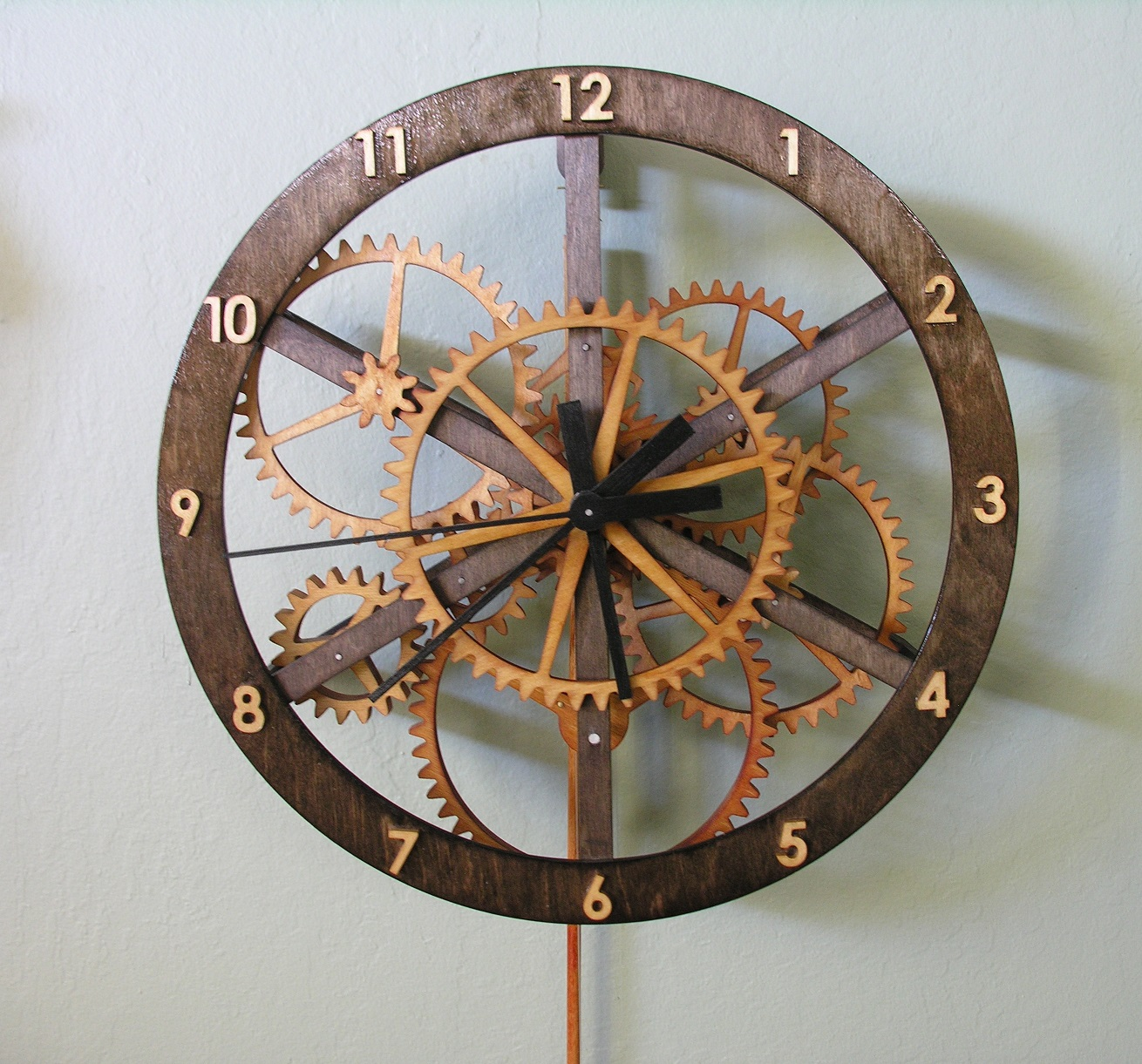 Starchar Clock Plans The Wooden Clock