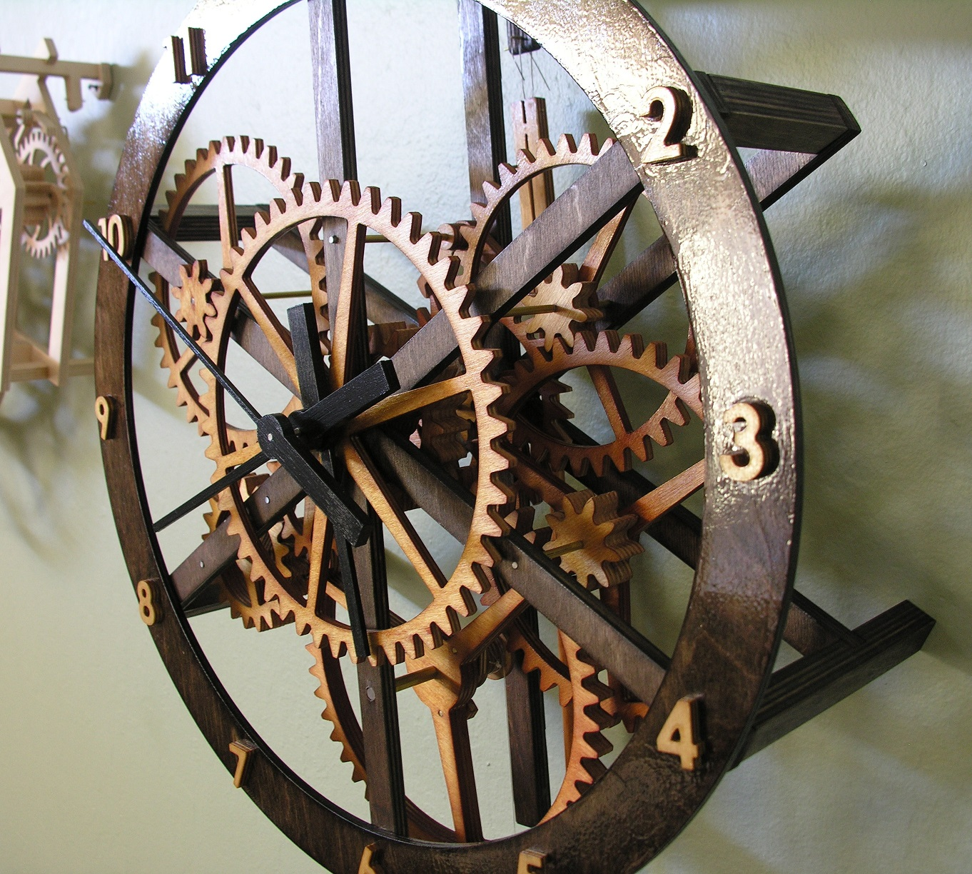 Starchar Clock Plans The Wooden Clock